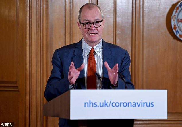 Sir Patrick Vallance, the Government's chief scientific adviser, has admitted that the current rate of coronavirus testing in the UK 'clearly is not going to be enough going forward'