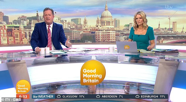 Piers Morgan said: 'This bomb is now going off in this country and it's going to be aided and abetted by these people who just aren't listening'