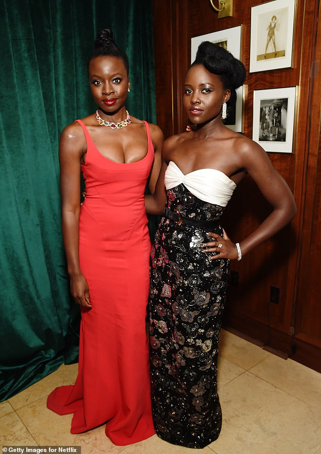 Next project: Danai's next project is upcoming HBO mini-series, Americanah - which will star Academy Award winner Lupita Nyong'o (pictured together in January)