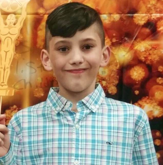 Colorado boy Gannon Stauch (pictured) vanished on January 27 and last Friday human remains discovered in Florida were 'tentatively identified' as the 11-year-old's