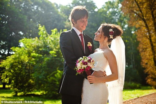 Weddings across the UK have been cancelled in tough new measures to fight the coronavirus (file image)