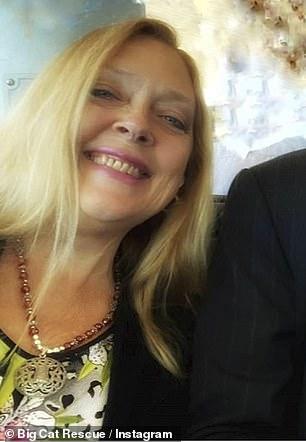 Вести в ногу со звездой Кардашьян Ким Кардашьян Уэст был одним из миллионов потокового криминального сериала Netflix «Король тигров», который спрашивает, убила ли Кэрол Баскин (на фото 22 января) своего пропавшего мужа Дона Льюиса