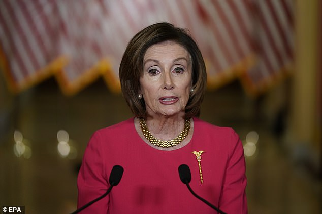 Despite this claim, House Speaker Nancy Pelosi returned to Capitol Hill Monday to propose her and the House Democrats' own stimulus package