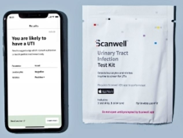 American startup Scanwell has produced a finger prick coronavirus test that takes just 15 minutes to complete at home. It will work in conjunction with a health app (similar to its UTI test)