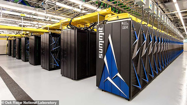A huge IBM supercomputer known as 'Summit' was tasked by Oak Ridge National Laboratory researchers with finding a potential cure to COVID-19