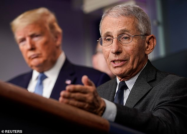 Tensions are reported between Dr. Tony Fauci and President Donald Trump