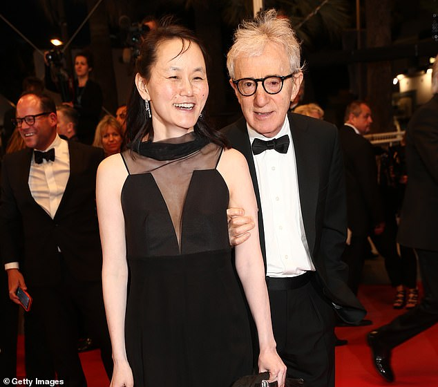 Others objected to his marrying Soon-Yi Previn (pictured together in 2015) in 1997, who was effectively his step daughter and 35 years younger than him