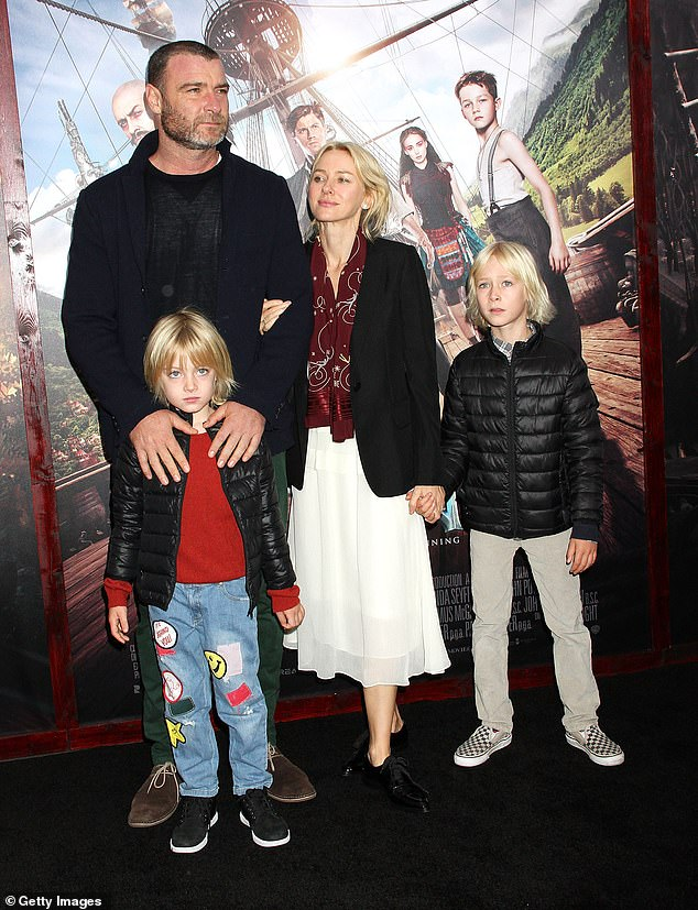 Liev and Taylor began dating in 2017 after he and his ex-wife Naomi Watts split in 2016, but the exes remain close and co-parent their two sons