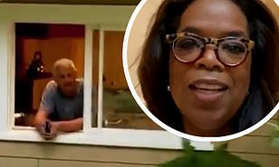 WATCH: Oprah Finally Kicks Stedman Out of Their Shacking Up Living Situation—but Only Because he Became 'High Risk for Contracting Coronavirus From Taking a Number of Flights'