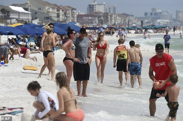 It's unclear whether any Liberty students joined spring break festivities in Miami, where pictures of college students ignoring social distancing warnings to party on the beach sparked national outrage