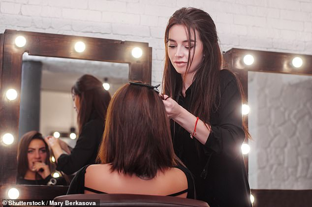 Hairdressers will also stay open but clients can only spend half an hour in the salon, limiting the services a stylist can provide