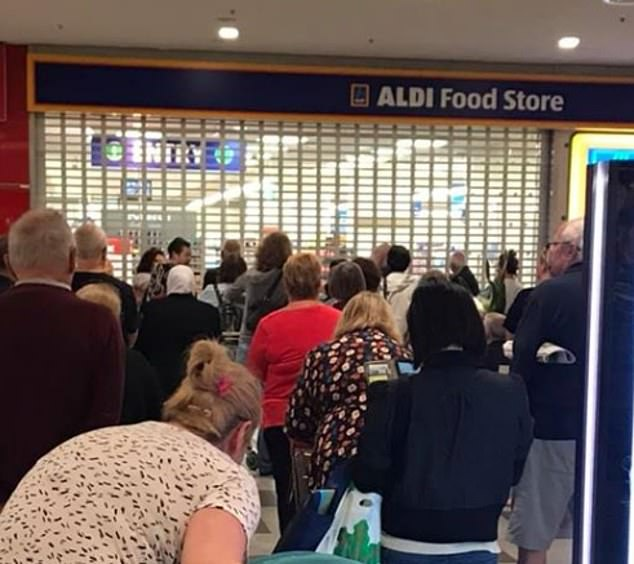 The supermarket giant has warned customers to expect lines out the door due to the limit
