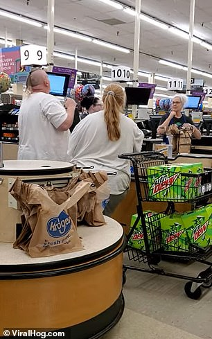 They grew furious as they learned they couldn't buy the sodas