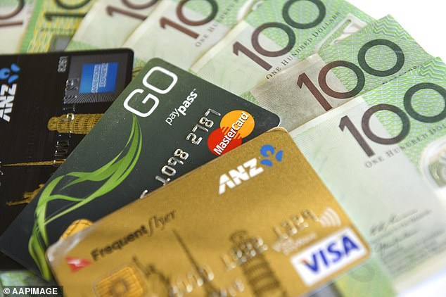 A move by banks to offer payment holidays on mortgage repayments has been extended to credit card debts (stock image)