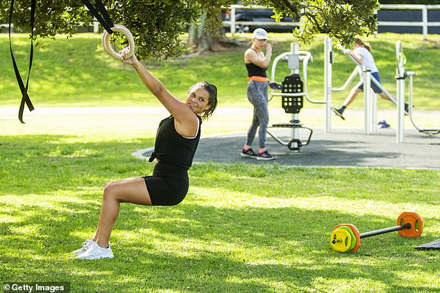 Professor Komesaroff said Australia could eventually follow the lead of other countries and ban all exercise outside the home