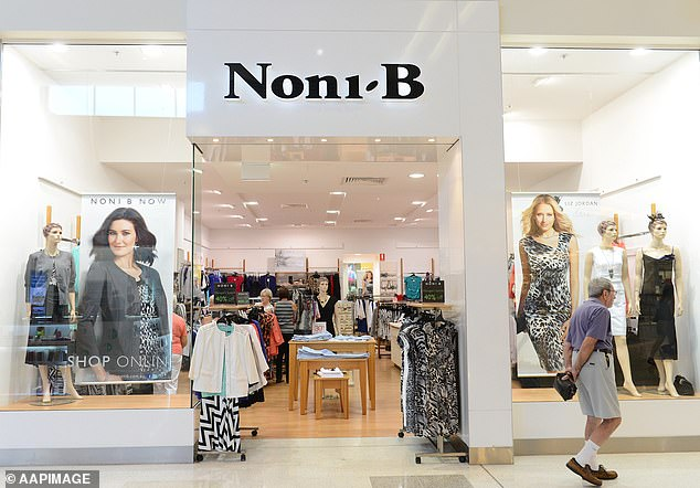 Thousands of workers were stood down as retailers were forced online. Pictured: Noni B