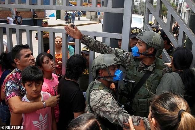 This week food became increasingly scarce and the Peruvian military began raiding hostels and arresting anyone in possession of alcohol, which is banned during the lockdown