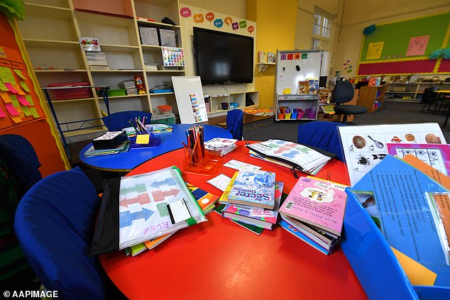 Schools remain open despite conflicting advice from state leaders and the prime minister. Parents can choose to keep their children home from school, but Mr Morrison has advised it is still safe to send them to class