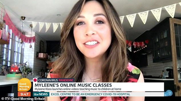 She said: 'Music is seen as a softer subject but now that Glastonbury is cancelled and theatre are cancelled, people are looking to put a bit of soul back in their lives'