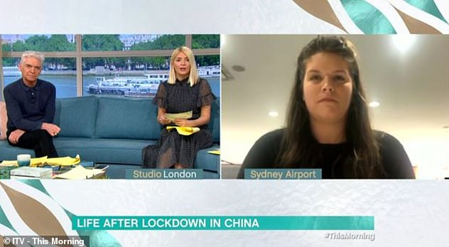 Laura appeared on This Morning via video link today, where she told hosts Phillip Schofield and Holly Willoughby she is determined to 'work through' the lack of equipment