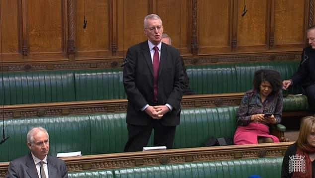 Labour MP Hilary Benn said whatever the Chancellor comes forward with 'will take time to implement', and asked what would be done to support those with 'no job, no income and no savings, in circumstances where they don't have any money at all to buy food'