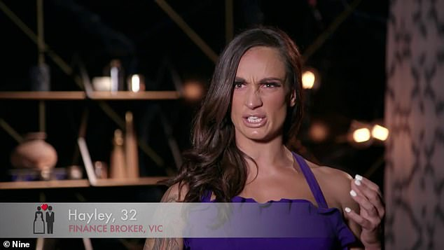 Married At First Sight's Hayley Vernon reportedly stormed out of the reunion after Stacey Hampton and Mikey Pembroke's 'affair bombshell' stole the spotlight