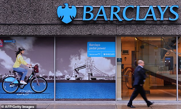 Barclays was last night accused of charging struggling firms up to 12 per cent interest on Government-backed crisis loans (stock image)