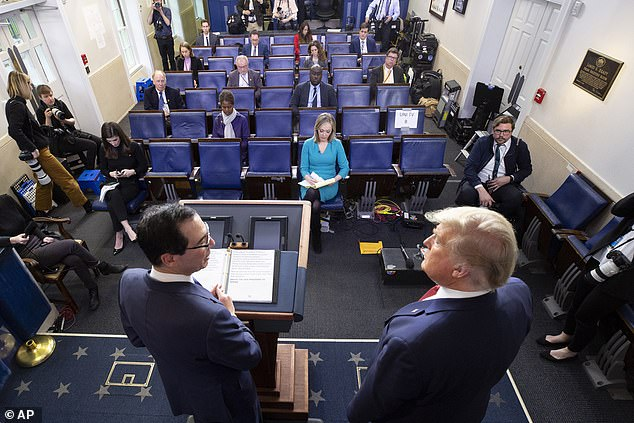 Trump told reporters in the briefing room Wednesday that he loved the Kennedy Center and wouldn't mind going to see a production of Romeo and Juliet there