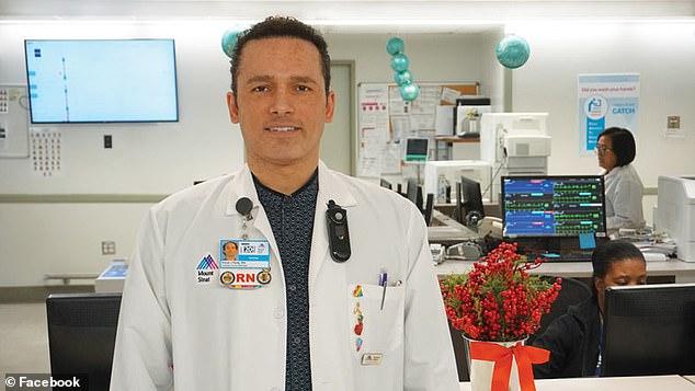 48-летний помощник медсестры Kious Kelly скончался в больнице Mount Sinai West в Манхэттене во вторник вечером, через неделю после того, как его положили на тест на коронавирус