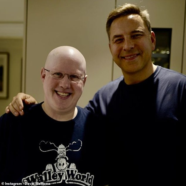 Big business: Little Britain stars David Walliams and Matt Lucas have reportedly been offered £3million to bring their revived comedy to Netflix (pictured in September 2019)