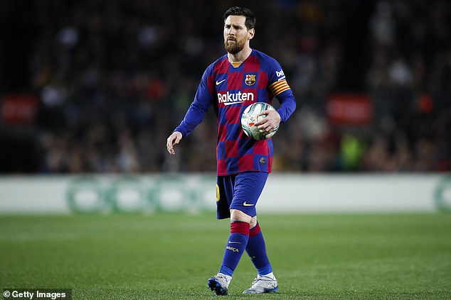 Barcelona's stars including the £500,000-a-week Lionel Messi are refusing a 70 per cent pay cut during the coronavirus outbreak