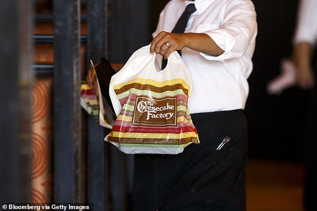 David Overton, chairman, founder and CEO of the company, says the chain was forced to close locations because of the virus and that other restaurants that stayed open were reduced to delivery and to-go orders (pictured)