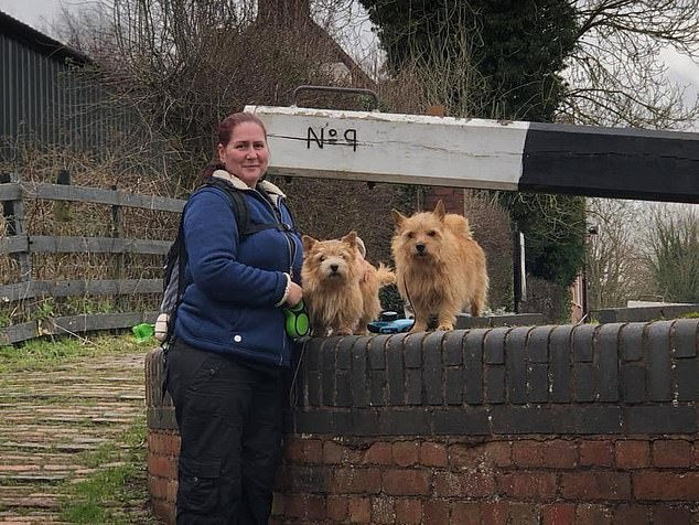 Joe Nutkins (pictured) earns £13,500 a year through her dog training business. And she has been offered loans from old clients who want to help her during the outbreak