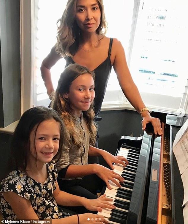 Teacher:Myleene has grand plans during the coronavirus crisis, declaring 'I want to be the nation's music teacher!' as she launches her online Music Klass