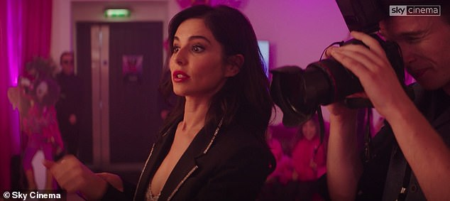 Perfect Image: In an exclusive clip of the release of Sky Cinema, fans will see Call My Name like never before as it channels the cunning character, who pushes one of the main roles towards celebrity