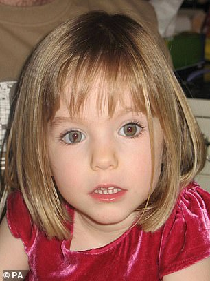 More than £11 million has been spent on the search for Madeleine McCann, pictured