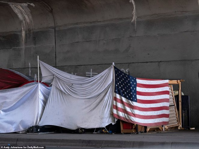 The homeless are among the most vulnerable people in Los Angeles with many suffering from underlying health conditions as well as drink and drug addiction