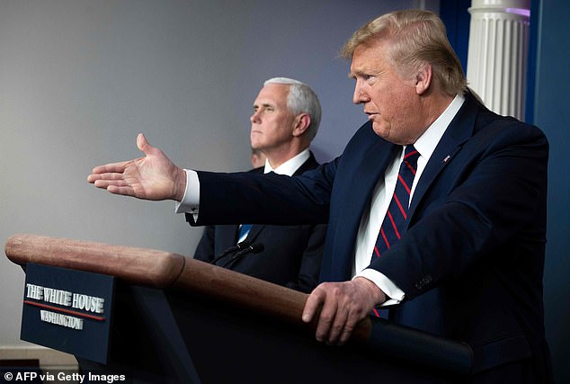 PresidentTrump admitted Vice President Mike Pence will call the governors