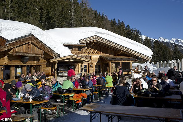 St. Anton was placed under stick quarantine amid the ongoing coronavirus crisis