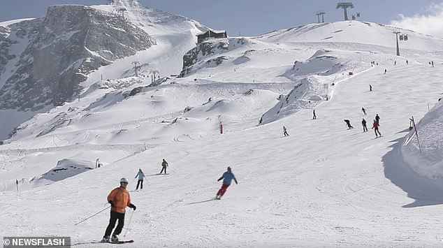 In western Austria, the ski season ended prematurely because of the Coronavirus