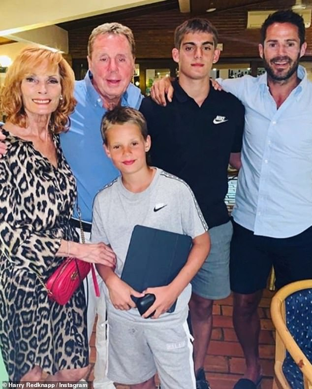 Family:Sandra and Harry have grandsons Charles, 15, and Beau, 11, whose parents are Jamie Redknapp, 46 and his ex-wife Louise Redknapp, 45