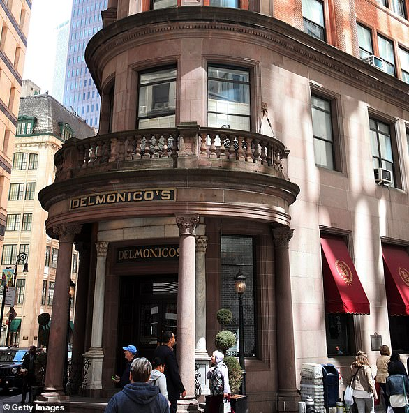 New York City's 182-year-old restaurant, Delmonico's (pictured in April 2016), shared news of their efforts to raise $200,000 for their employees over the weekend