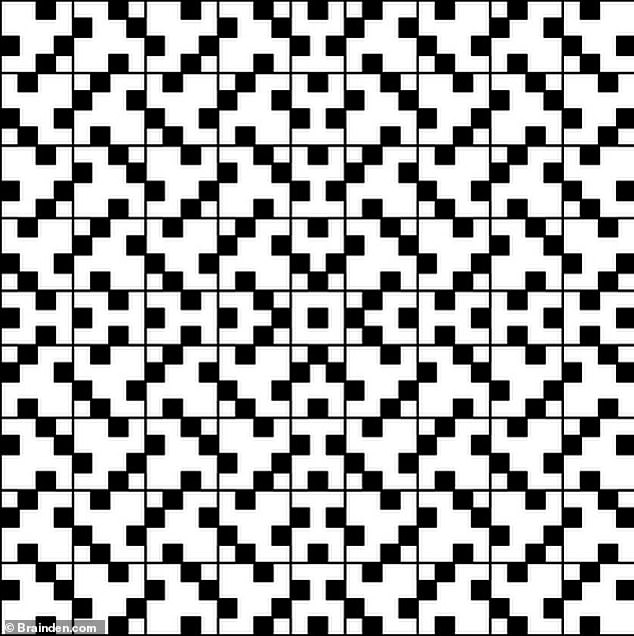 Akiyoshi Kitaoka from Japan, developed this illusion which makes regular squares look wonky