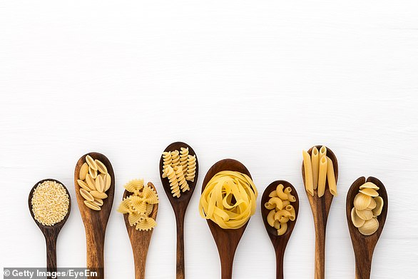 Dr Megan says pasta al dente is a good source of resistant starch (file image)