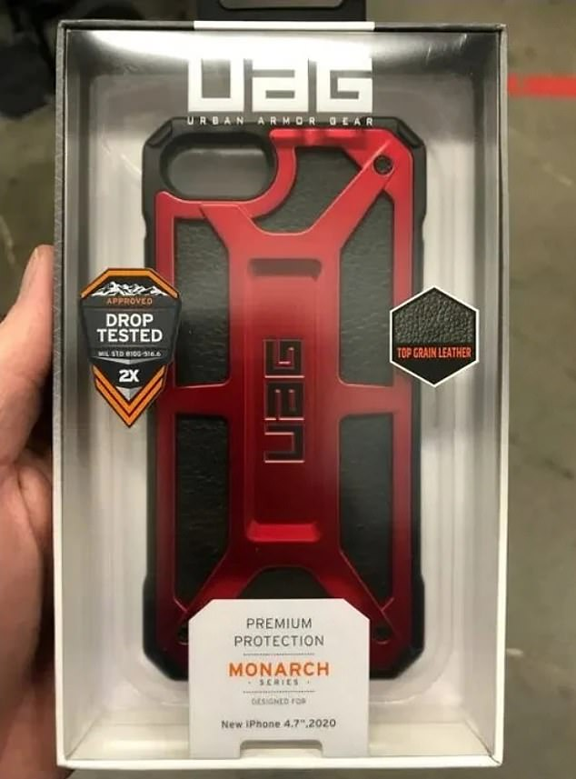 Anew image has surfaced online that suggest the firm is on track and could launch the iPhone SE in the next week. A consumer shared a pictured of an Urban Armor Gear case seen at a Best Buy location, with packaging that indicates it is for the 'New iPhone 4.7-inch 2020'