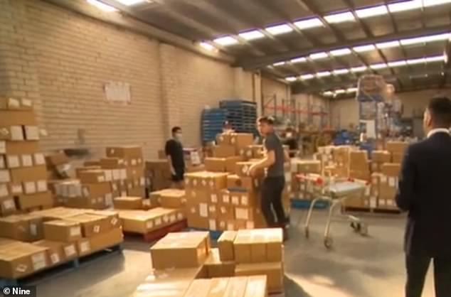 A Current Affair exposed the massive exporting operation, which comes as medical professionals express a growing concern that there is short supply of the vital products in Australia