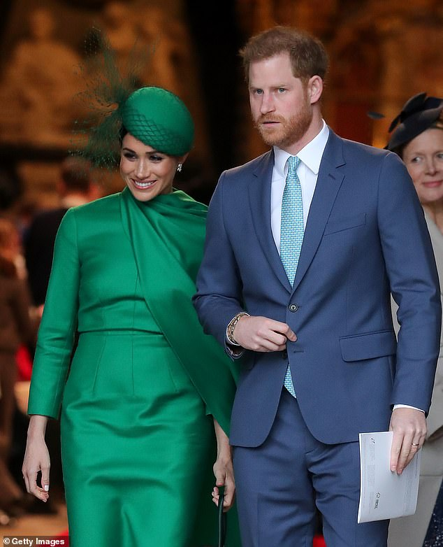 Prince Harry and Meghan have now wound down their UK foundation and are living in Los Angeles