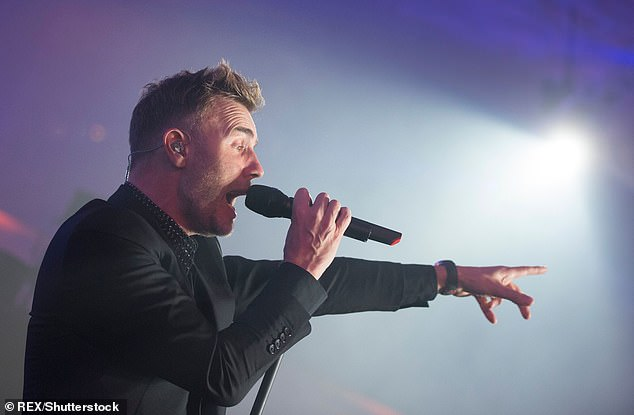 Great opportunity:Gary Barlow admits he's fully embraced self-isolation as it gives him an opportunity to completely focus on his music, without outside distractions getting in the way.