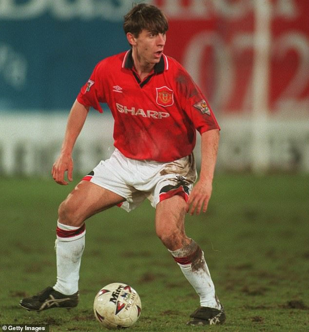 Defender Neville was one of the players to break into United's 92 class