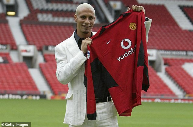 Part of Fergie's strategy was to sign the best of the Premier League like Rio Ferdinand in 2002